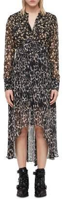 AllSaints Liza Asa High/Low Dress