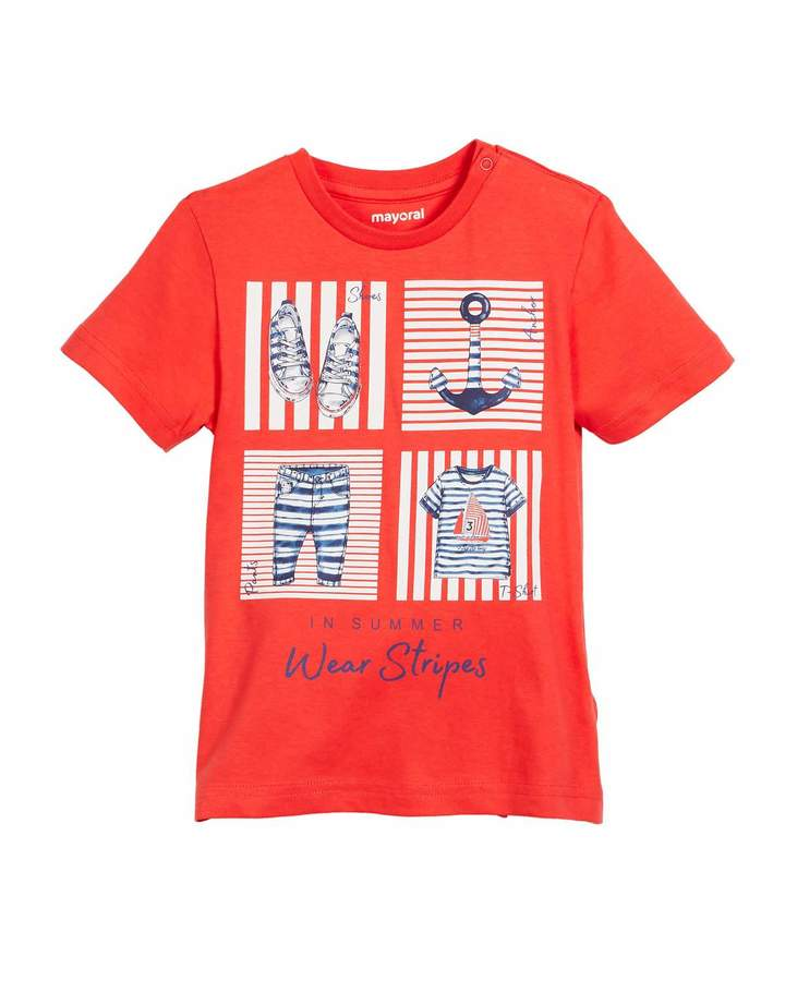 Short-Sleeve Nautical Graphic T-Shirt, Size 12-36 Months
