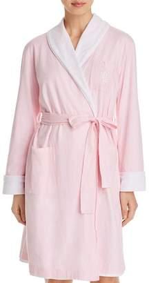 Ralph Lauren Essential Short Shawl Collar Robe