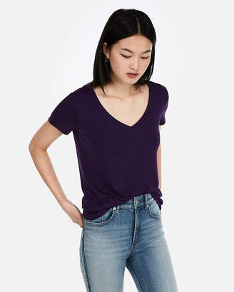 Express One Eleven V-Neck Slim Tee