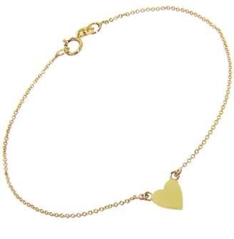 Jennifer Meyer Heart Bracelet - Yellow Gold