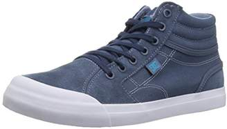 DC Boys Youth Evan Hi Skate Shoes Blue