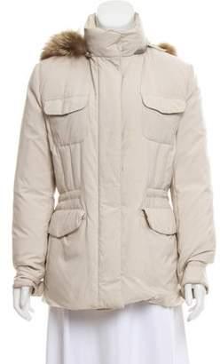 Loro Piana Fur-Trimmed Down Jacket