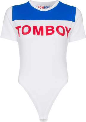 Filles a papa Tomboy Babe jersey stretch body suit
