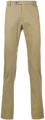Berwich straight leg trousers