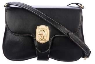 Kieselstein-Cord Leather Crossbody Bag