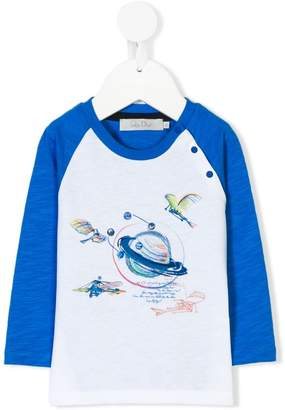 Christian Dior planet print T-shirt