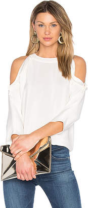 RAMY BROOK Vivica Top in Ivory $345 thestylecure.com