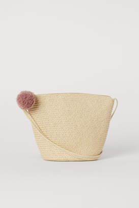 H&M Small Straw Bag