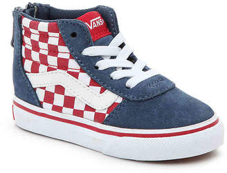Vans Ward Toddler High-Top Sneaker - Boy's
