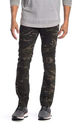 "X-Ray XRAY Camo Moto Slim Fit Jeans - 30-32\"" Inseam"