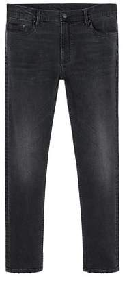 Mango man MANGO MAN Skinny dark grey wash Jude jeans
