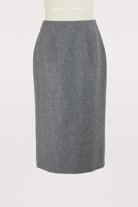 Thom Browne Wool pencil skirt