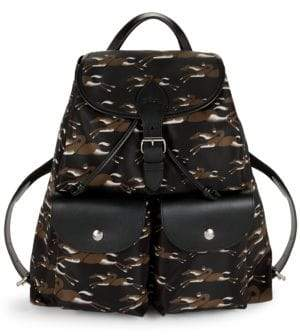 Longchamp Classic Printed Backpack