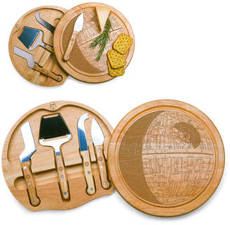 Picnic Time Star Wars Death Star Circo Cheese Cutting Board & Tools Set
