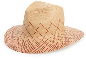 BP Two-Tone Straw Hat