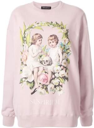 Undercover Suspirium Children print sweatshirt