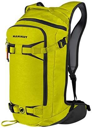 Mammut Nirvana Flip, Unisex Adults' Backpack, Yellow (Citron/Phantom), 15x17x25 cm (W x H L)