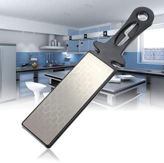 Geneirc Double Side 400/1000# Professional Kitchen Sharpener Diamond Ceramic Knife Sharpening Wet Stone Whetstone Tool
