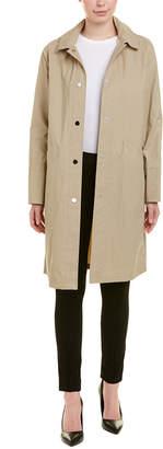 Jane Post Hooded Mack Coat