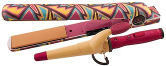 CHI Air 1-in. Classic Tourmaline Ceramic Hairstyling Iron & Mini Tapered Wand $99.99 thestylecure.com