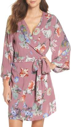Plum Pretty Sugar Pretty Plum Sugar Knee-Length Robe