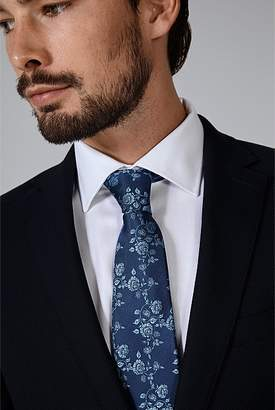 Country Road Tonal Floral Tie