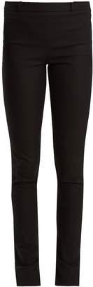 Roland Mouret Mortimer skinny-leg cotton-blend trousers