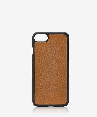 GiGi New York iPhone 7 Hard-Shell Case, Black Pebble Grain