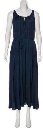 Zadig & Voltaire Pleated Maxi Dress