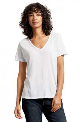 Michael Stars Skyler Relaxed V Neck Tee - Small