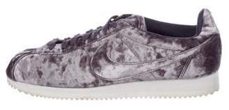 Nike Cortez Classic Velvet Sneakers