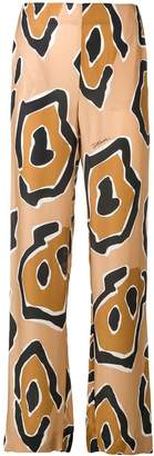 Just Cavalli patterned trousers