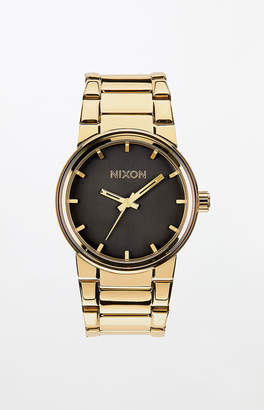 Cannon Black & Gold Watch