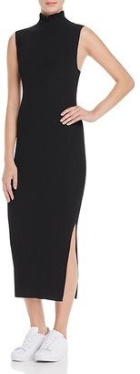 Theory Hedrisa Lustrate Ribbed Knit Dress $425 thestylecure.com