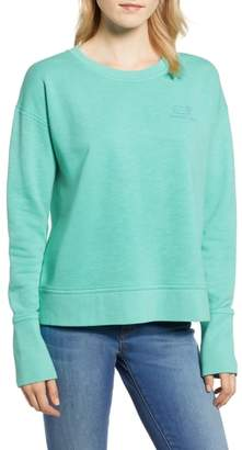 Vineyard Vines Garment Dyed Vintage Whale Long Sleeve Cotton Tee
