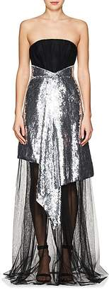 Osman Women's Katherine Embellished Tulle Strapless Gown