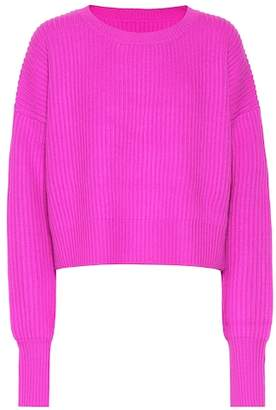RE/DONE Wool and cashmere cropped sweater