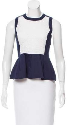 ICB Lace-Accented Sleeveless Top