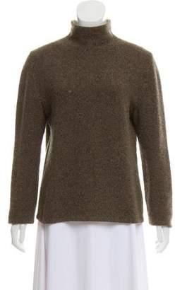 Hermes Cashmere Mock Neck Sweater