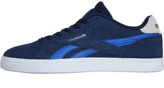 Reebok Classics Mens Royal Complete 2LS Trainers Collegiate Navy Acid  Blue Stucco White 2eb85f97a
