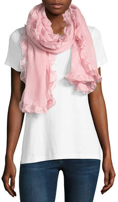 MIXIT Mixit Oblong Bordered Scarf