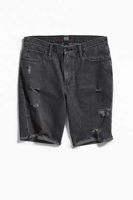 BDG Black Distressed Denim Short