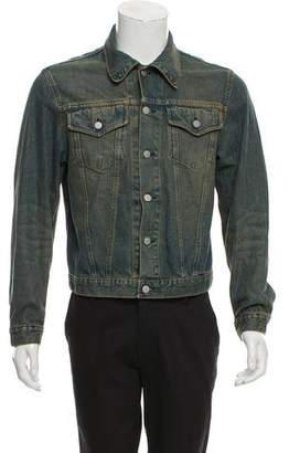 Helmut Lang Vintage Two-Pocket Denim Jacket