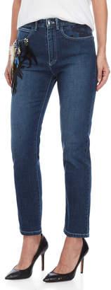 Sonia Rykiel Stretch Feather Charm Jeans