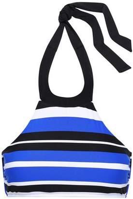 Seafolly Blue Ray Striped Halterneck Bikini Top