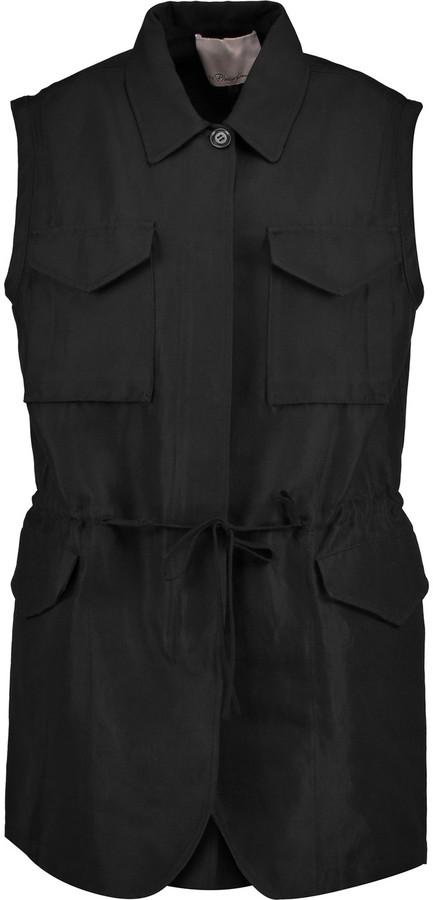 3.1 Phillip Lim3.1 Phillip Lim Piqu&eacute vest