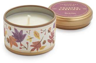 Sur La Table Tin Toasted-Chestnut Soy Candle, 2.5 oz.