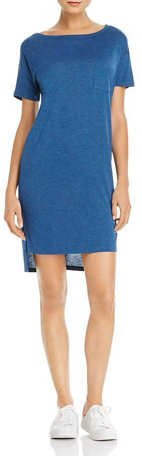 Alexander Wang T by Alexander Wang Boat Neck Tee Dress