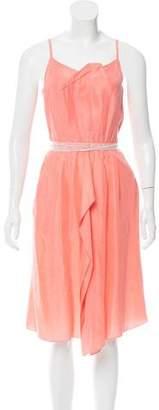 Roland Mouret Silk Midi Dress